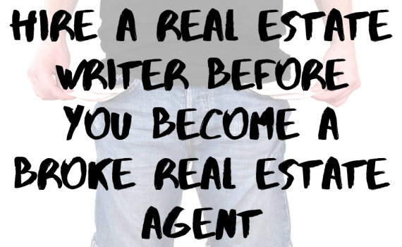 Hire a Real Estate Writer