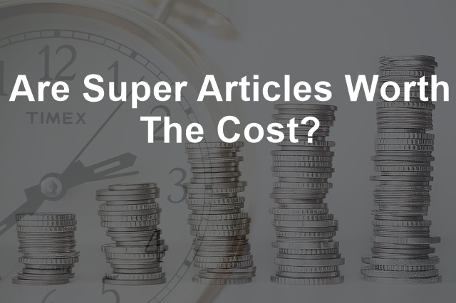 Super Article Cost