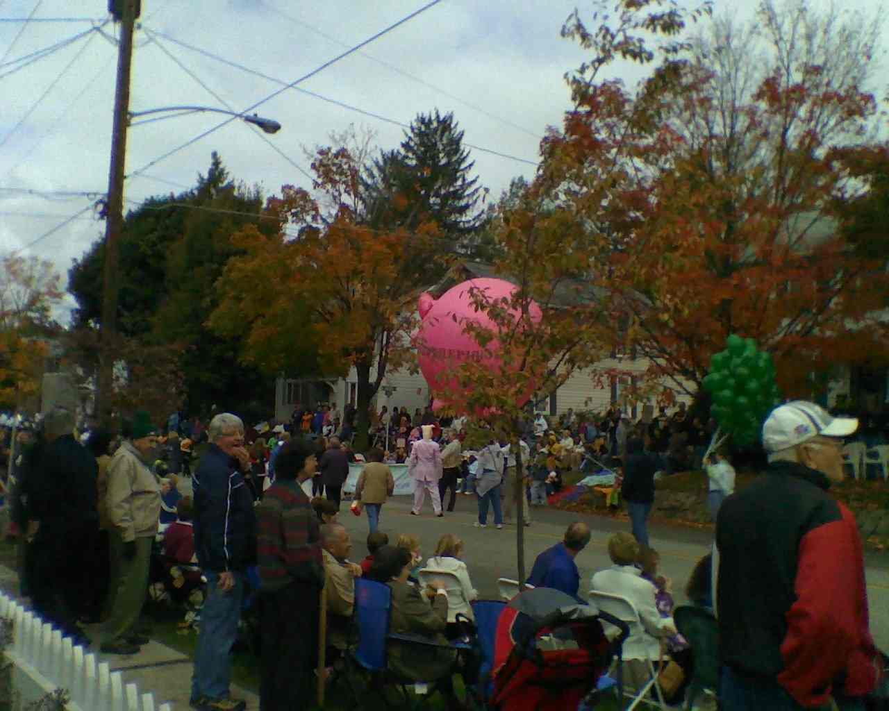 OK, so it wasn't the Macy's parade, but the 50th annual Ft. Ligonier Days parade was a real slice of America.