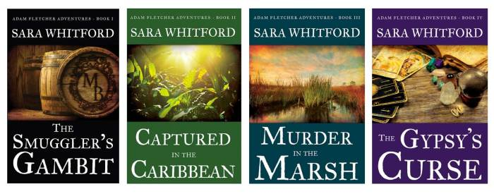 Adam Fletcher Series by Sara Whitford