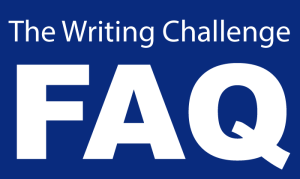 The Writing Challenge FAQ