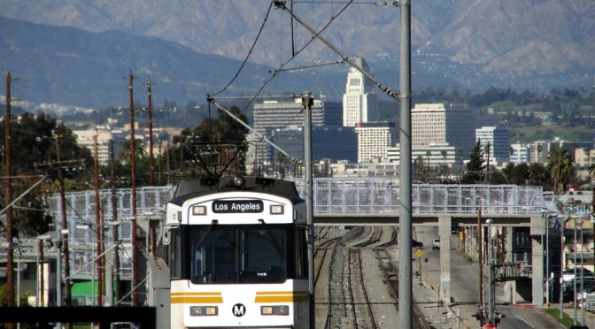 The Los Angeles Blue Line