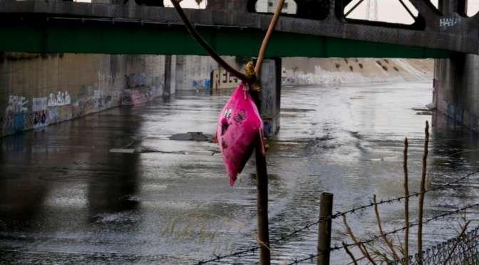 Under the bridge, same L.A. river