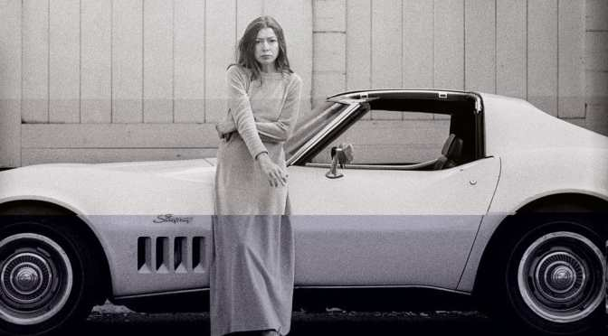 Joan Didion on a bleached California