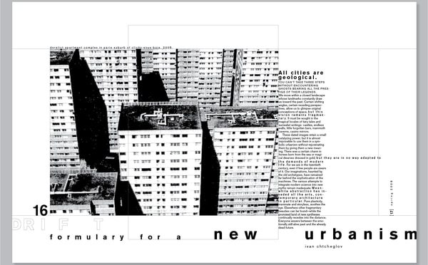 Chtcheglov's Formulary for a New Urbanism