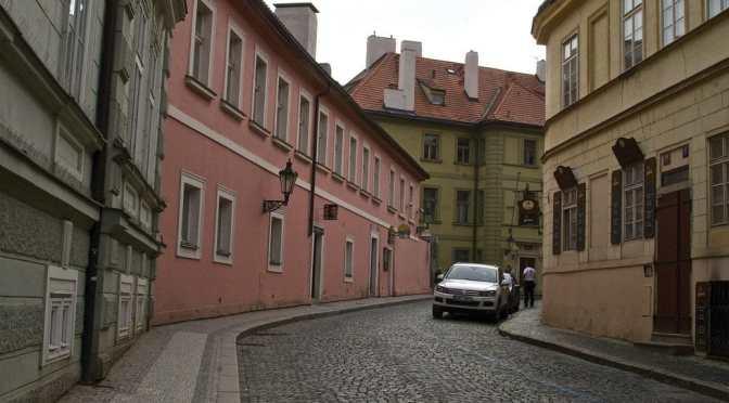 Prague's Kafka Museum, Kafka and Prague