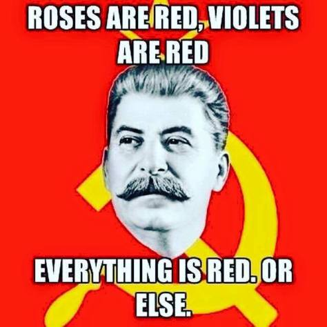 Valentine's Day Stalin