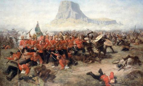 Desperate heroism … Charles Edwin Fripp's The Last Stand at Isandlwana, 1885. Photograph: Council of the National Army Museum