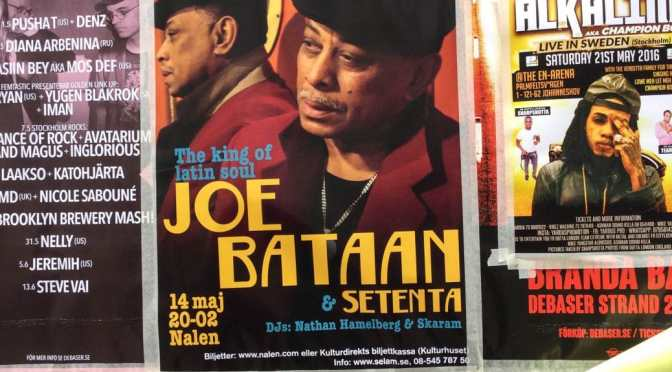 Joe Bataan, Legend. In Stockholm.