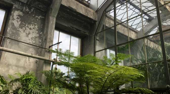 For love of brutalist concrete conservatories