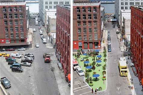 Streetfight -- Pearl Street Plaza