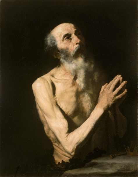 Jusepe de Ribera, (1591-1652) Saint Onuphrius, late 1620s