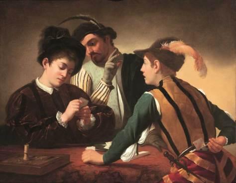 Caravaggio the-cardsharps