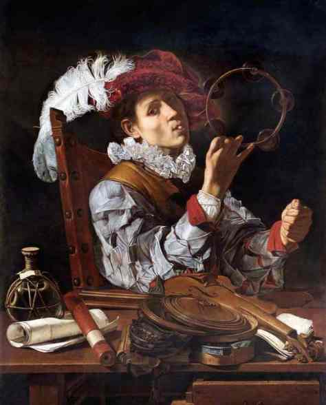 Cecco del Caravaggio; A Musician (Conjurer); English Heritage, The Wellington Collection, Apsley House; http://www.artuk.org/artworks/a-musician-conjurer-144112