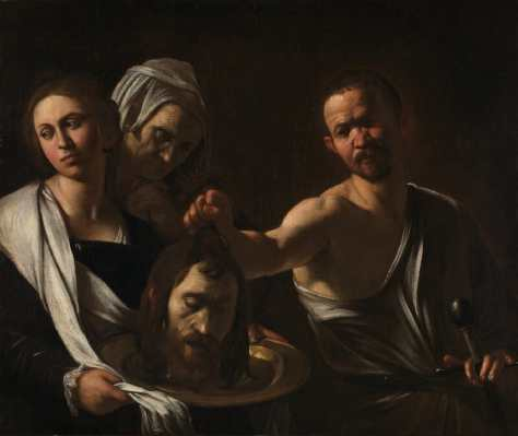 caravaggio Salome receives the head of john the baptist
