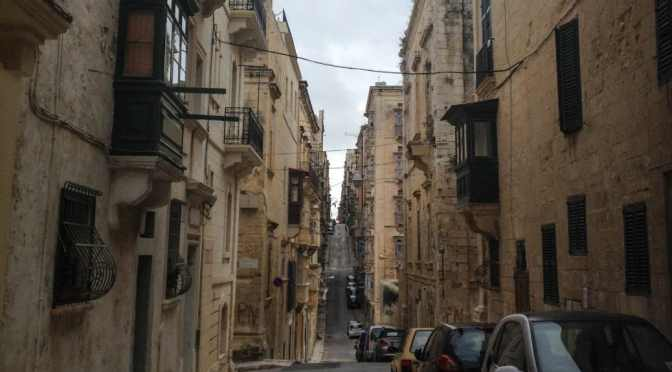 Valletta's Spaces of Stone