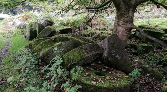 Grindleford to Hathersage: Quarries, Millstones and Little John's Grave