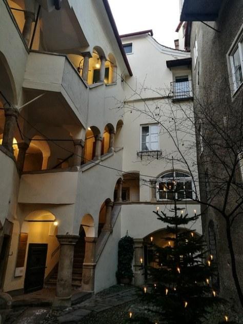 medieval courtyard, Graz
