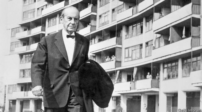 Gropius on the architects Behind the New Architecture