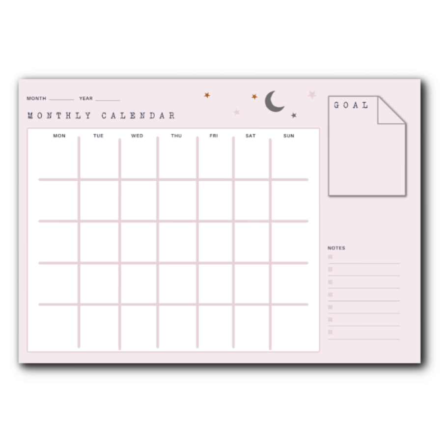 mid year planning and FREE planner pages - monthly