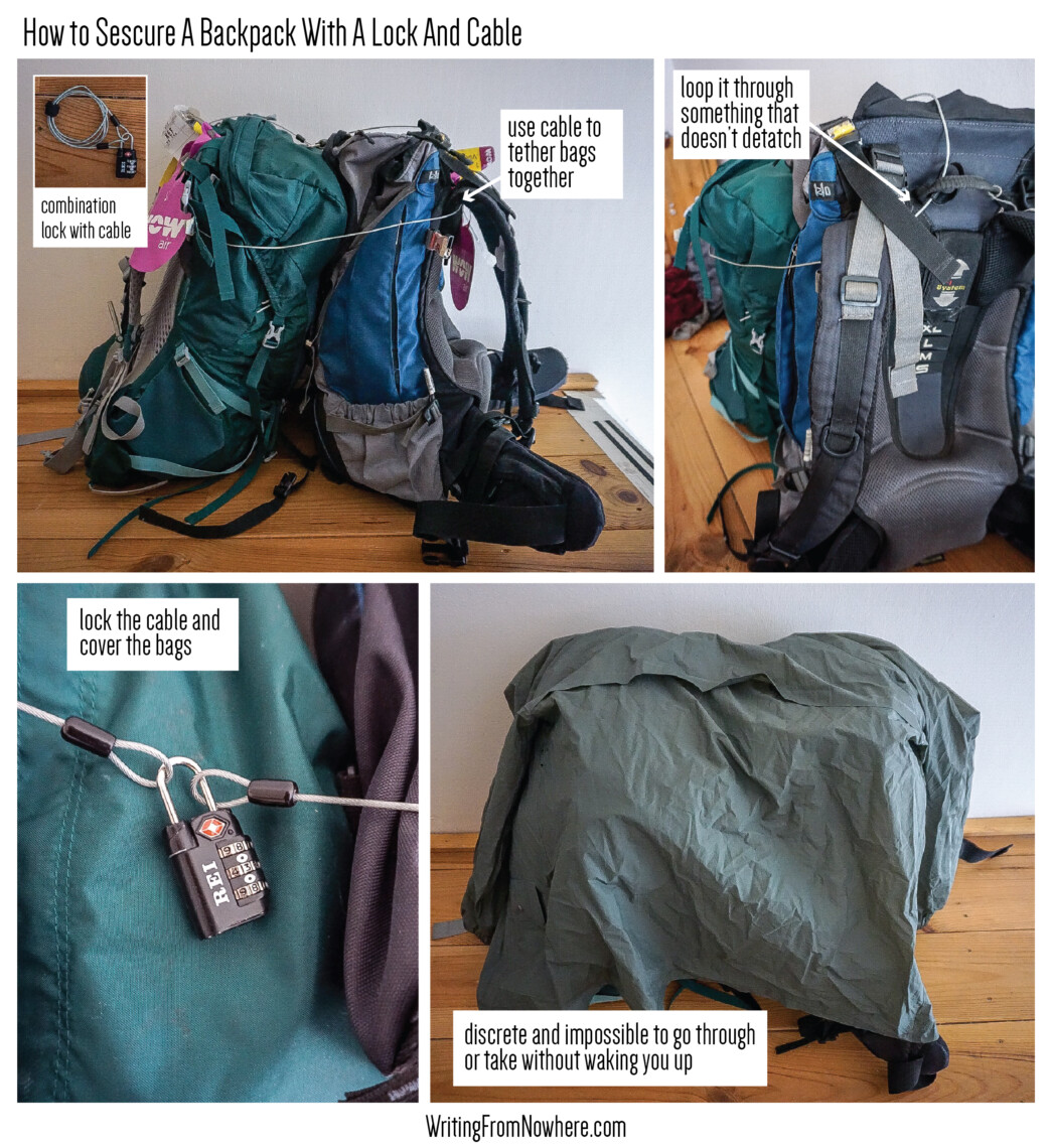 Backpacking Security_Writing From Nowhere