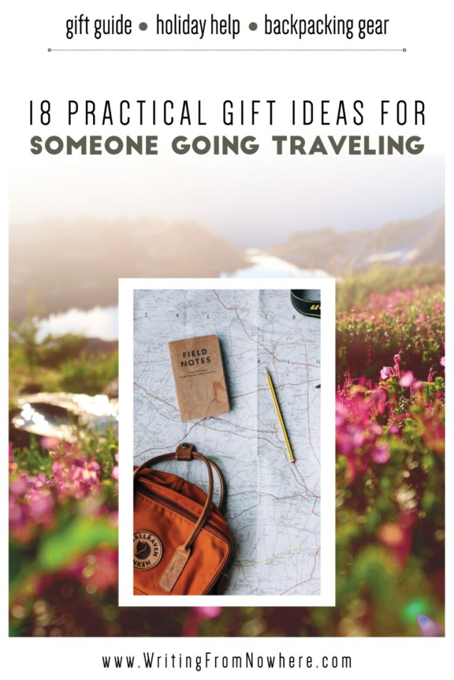 gifts for someone going traveling_Writing From Nowhere