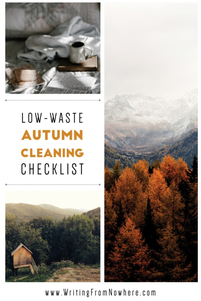 low-waste-autumn-cleaning-checklist_Writing-From-Nowhere