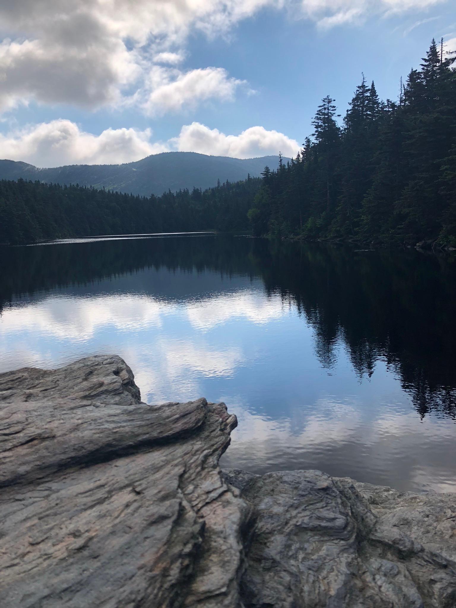 Mountain Lake - Photograph