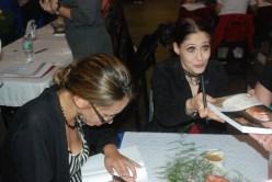 margarita and valerie signing
