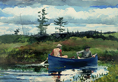 1-the-blue-boat-winslow-homer