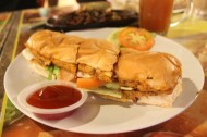 Beef Roti John RM$5.50