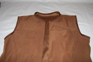 Vest with Bias Tape Binding
