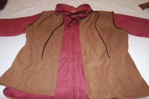 Completed Vest and Shirt
