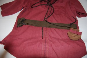 Completed Belt and Pouch