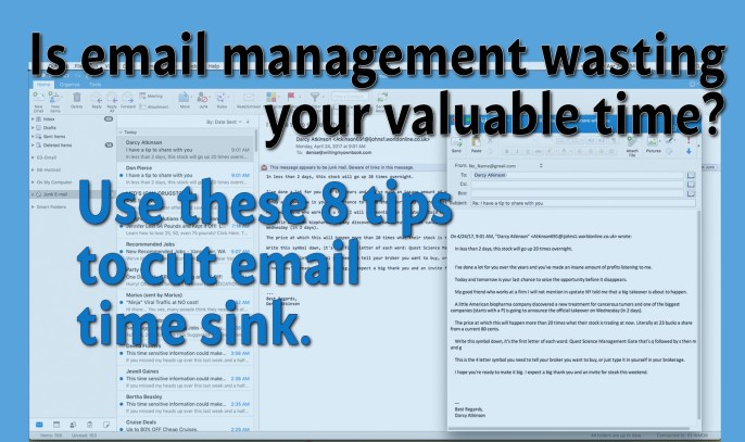 Email Management for Authors