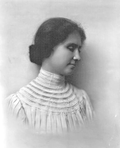 Helen Keller in 1905