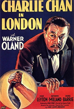 Charlie Chan (http://www.impawards.com/1934/posters/charlie_chan_in_london_xlg.jpg)