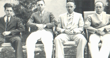Dad (left) and his brothers, around 1940