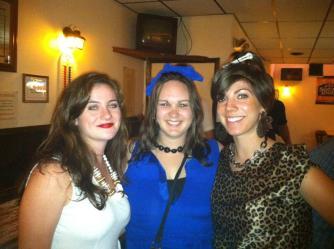 She shares my love of theme parties. Meet the Flintstones.
