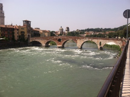 Oh Verona, not bad.