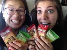 Eating and traveling, like this trip with my cousin, are a big part of service. :)