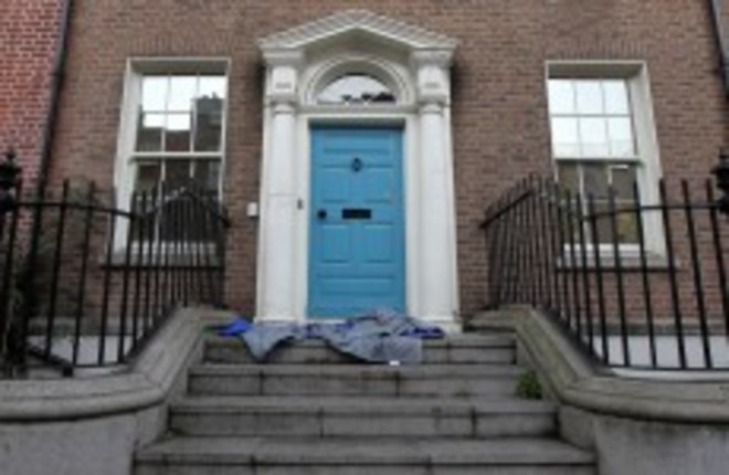 Each Christmas, more and more homeless sleep on the streets in Ireland