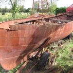 """The """"Nita"""" – the boat of Ralph Dopping Hepenstal on Lough Gowna"""