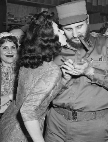 Fidel Castro was a champion of the poor, and a charmer of the ladies... however his lack of basic manners left my mother cold when she met him in Washington