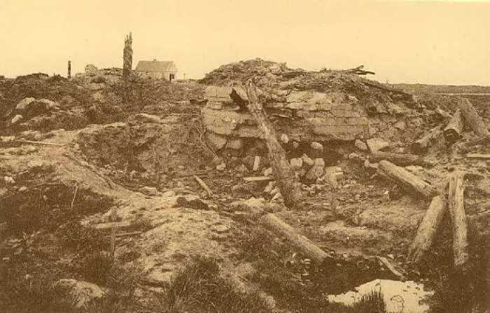 Gheluvelt just after the War --- Photo - NELS