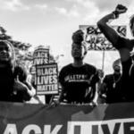 Black Lives Matter march in America