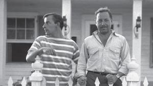Tennessee Williams and Frank Merlo