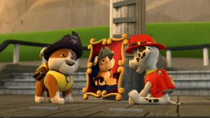 Pups and pirate