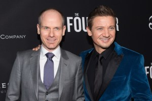 Don Handfield and Jeremy Renner