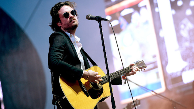 INDIO, CA - APRIL 14: Musician Father John Misty performs on the Coachella Stage during day 1 of the Coachella Valley Music And Arts Festival (Weekend 1) at the Empire Polo Club on April 14, 2017 in Indio, California. (Photo by Kevin Winter/Getty Images for Coachella)